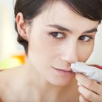Snabbstopp på näsblodet